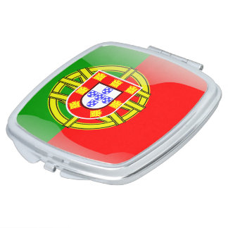 Portuguese glossy flag makeup mirrors