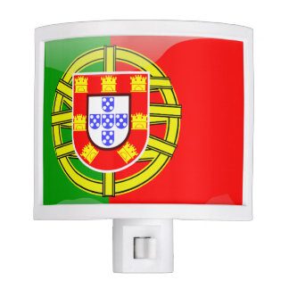 Portuguese glossy flag night light