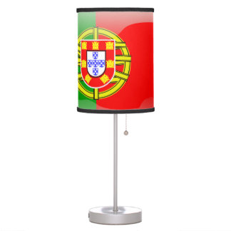 Portuguese glossy flag table lamp