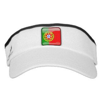 Portuguese glossy flag visor