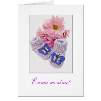 Portuguese: It's a Girl! É uma menina! 1 Card
