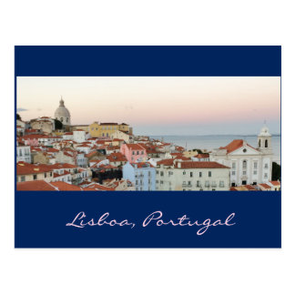 Portuguese: Lisboa, Portugal Postcard