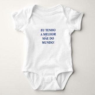 "Portuguese ""Mãe"" baby bodysuit"