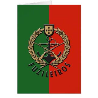 "Portuguese Navy Marines ""Fuzileiros"" Greeting Cards"