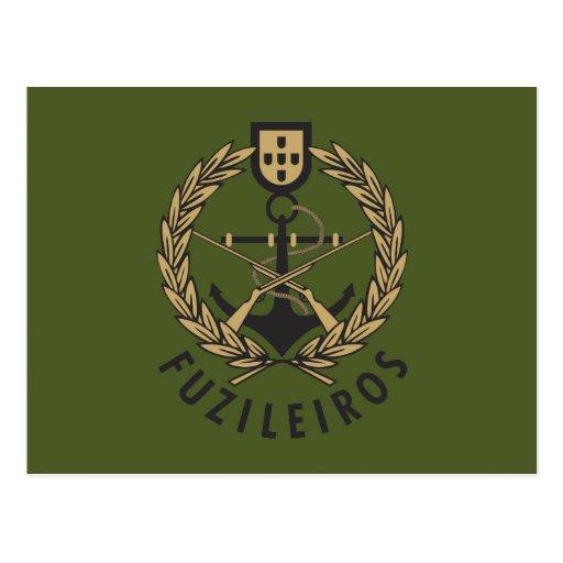 "Portuguese Navy Marines ""Fuzileiros"" Post Cards"