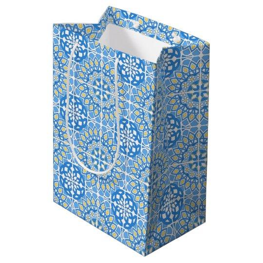 Portuguese patern medium gift bag