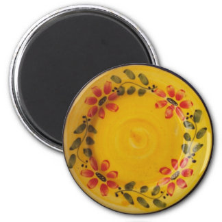 Portuguese Pottery 2 Inch Round Magnet