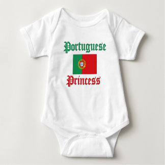 Portuguese Princess Baby Bodysuit