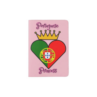 Portuguese Princess Passport Holder