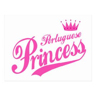 Portuguese Princess Postcard
