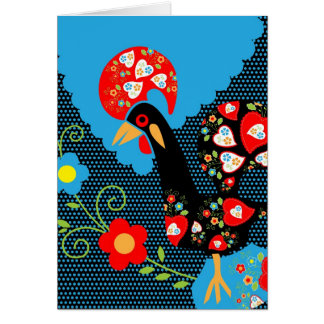 Portuguese Rooster Greeting Cards