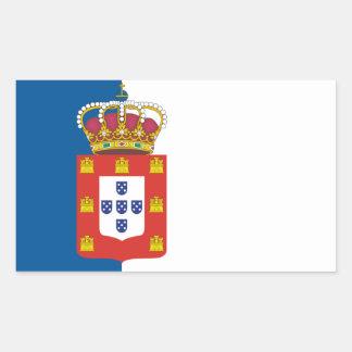 Portuguese Royal Flag Sticker