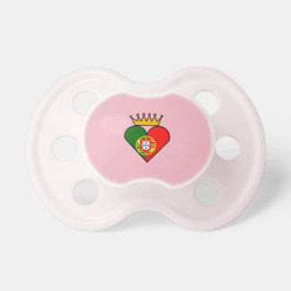 Portuguese Royalty Pacifier
