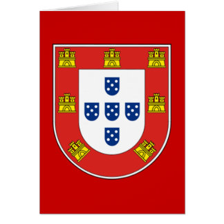 Portuguese shield card