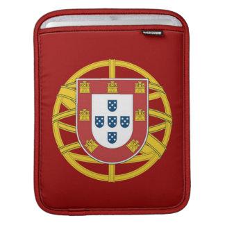 Portuguese shield iPad sleeve