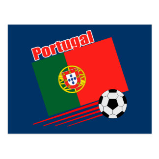 Portuguese Soccer Team Postcard