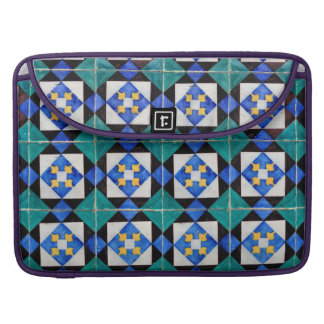 "Portuguese Square Tiles Macbook Pro 15"" Sleeve For MacBooks"