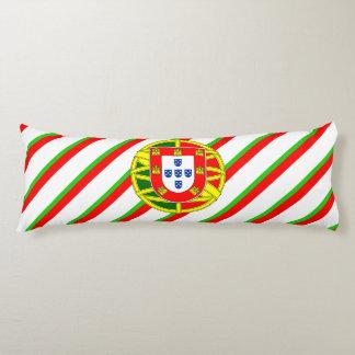 Portuguese stripes flag body pillow