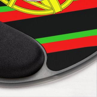 Portuguese stripes flag gel mouse pad