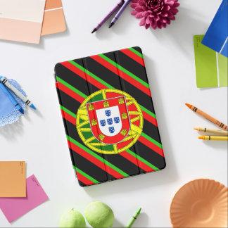 Portuguese stripes flag iPad air cover