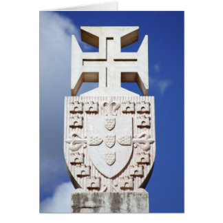 Portuguese symbology greeting card
