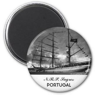 Portuguese tall ship NRP Sagres Magnet
