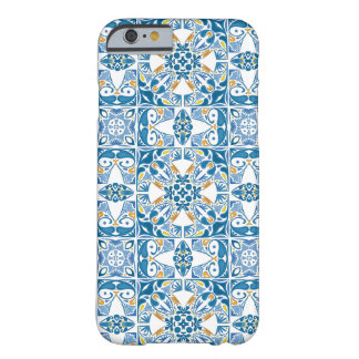 Portuguese Tile Pattern Barely There iPhone 6 Case