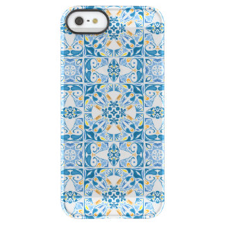 Portuguese Tile Pattern Permafrost® iPhone SE/5/5s Case