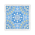 Portuguese tile patterns acrylic tray