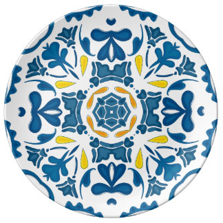 Portuguese tile plate