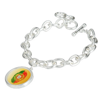 Portuguese touch fingerprint flag bracelet