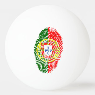 Portuguese touch fingerprint flag ping pong ball