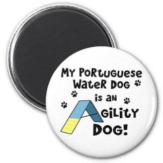Portuguese Water Dog Agility Dog Magnet