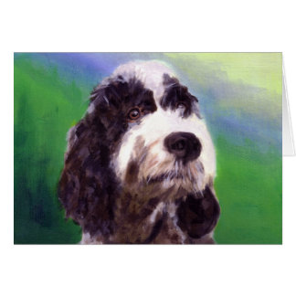 Portuguese Water Dog Card