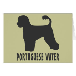 Portuguese Water Dog Cards