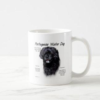 Portuguese Water Dog History Design Coffee Mug