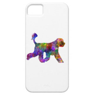 Portuguese Water Dog in watercolor iPhone 5 Covers