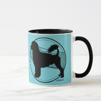 Portuguese Water Dog Lion Nets Mug