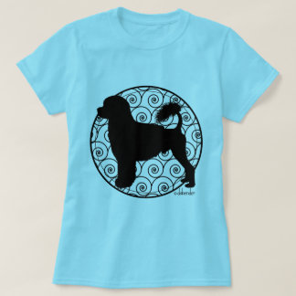 Portuguese Water Dog Lion Waves T-Shirt