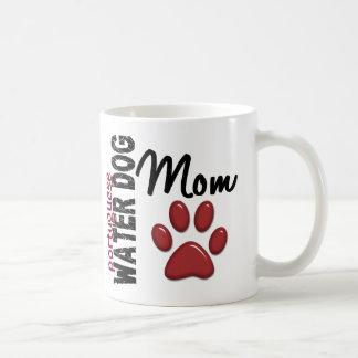 Portuguese Water Dog Mom 2 Basic White Mug