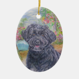 Portuguese Water Dog Ornament
