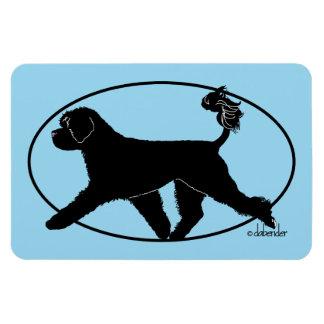 Portuguese Water Dog Retriever Magnet