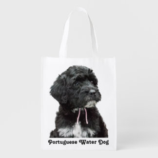 Portuguese Water Dog Reusable Shopping Bag Reusable Grocery Bag