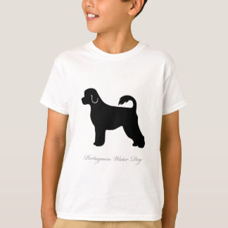 Portuguese Water Dog silhouette T-Shirt