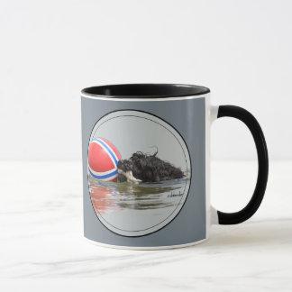 Portuguese Water Dog with Buoy Ball Mug