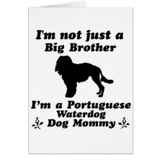 portuguese waterdog card