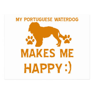 portuguese waterdog gift items post cards