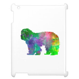 Portuguse Sheepdog in watercolor iPad Case