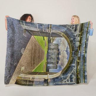 Portumna Castle, Ireland Acrylic Art Fleece Blanket