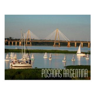 Posadas Argentina Postcard